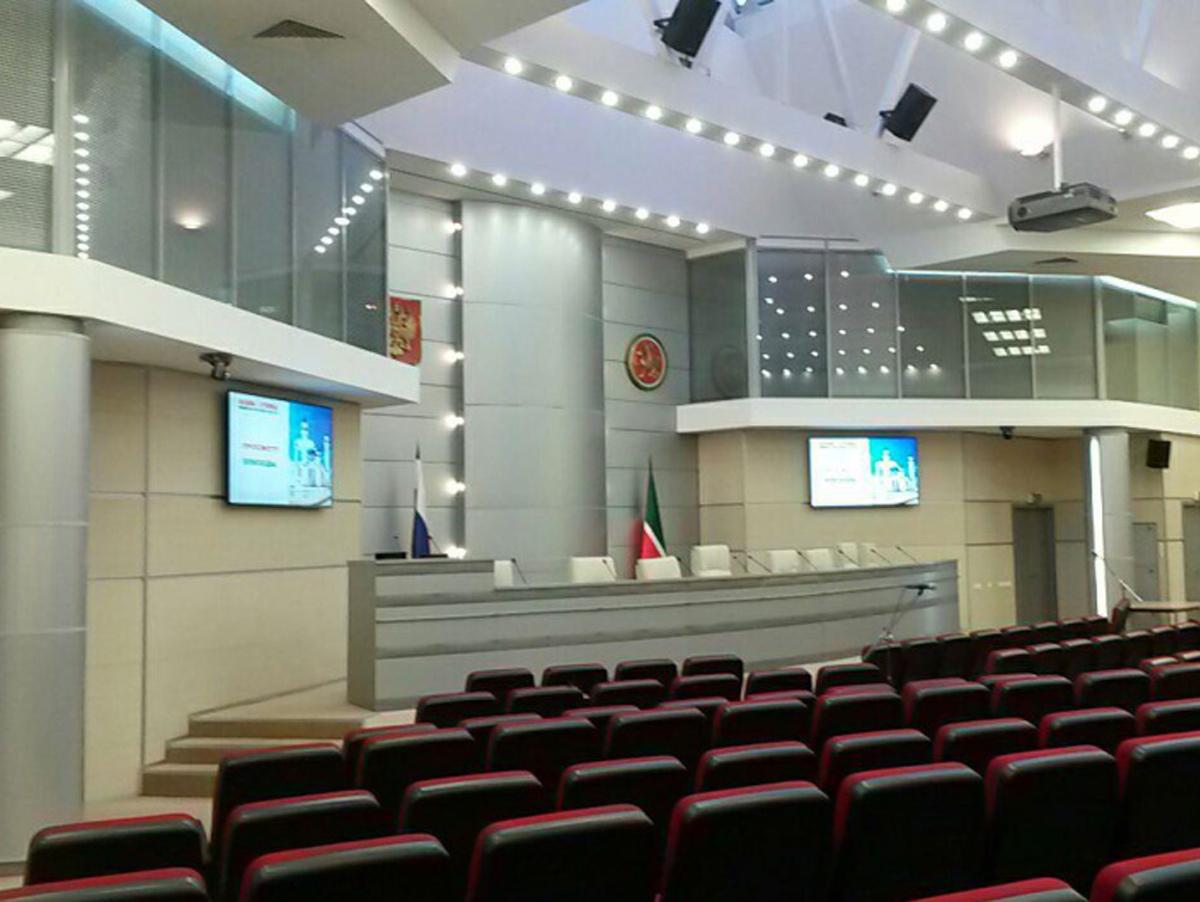 Зал совещаний МВД